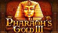 Игровой автомат Pharaoh's Gold III